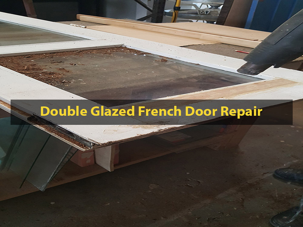 Double Glazed French Door, Door Restoration, Door Repair, Double Glazing, No. 8 Building Recyclers, Wellington