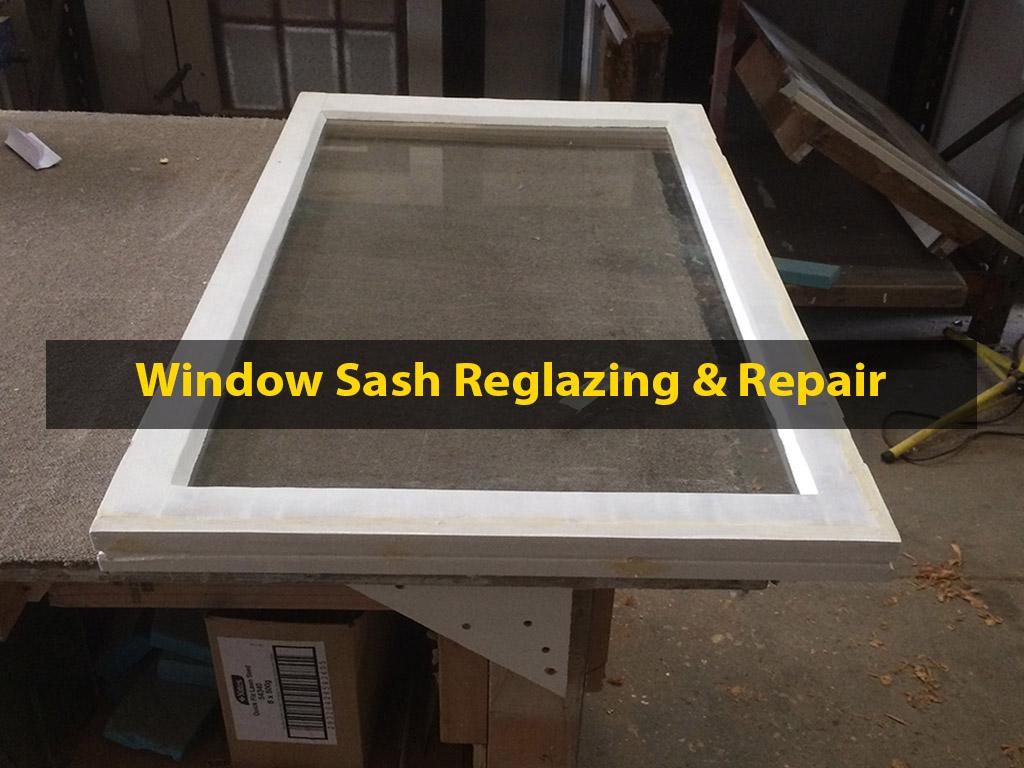 Window Sash Reglazing, Window Repair, Window Sash Repair, Sash Repair, Window Reglazing, No. 8 Building Recyclers, Wellington, Glass Replacement, Glass Retrofitting