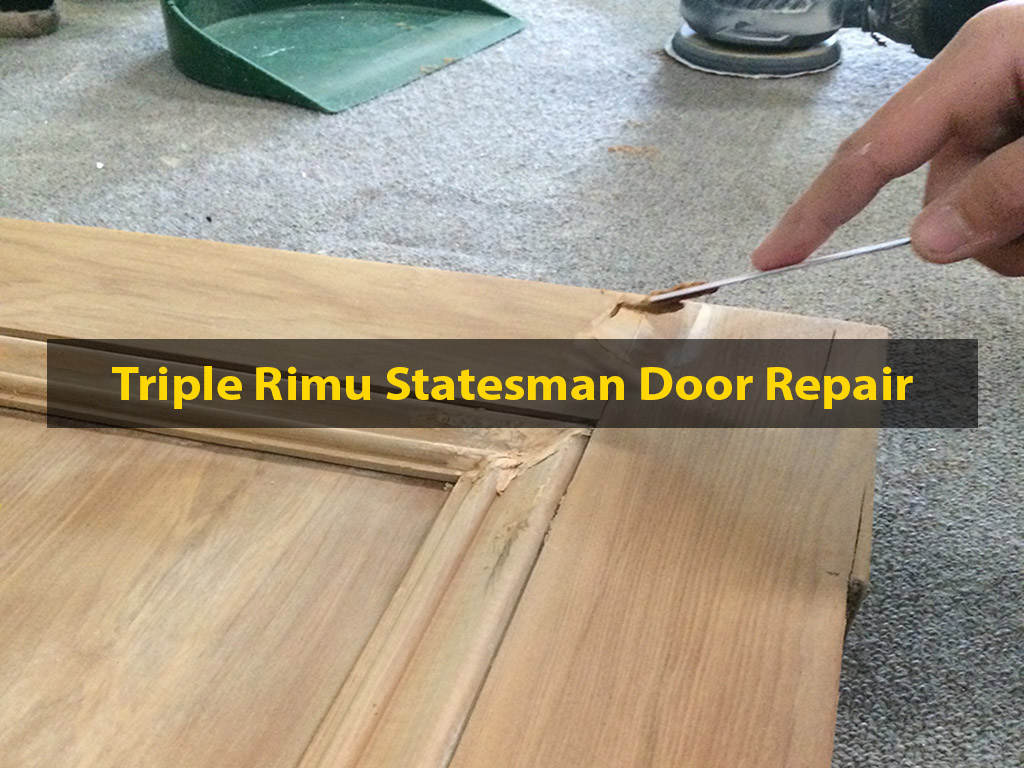 Rimu Statesman Door Repair, Door Repair, Building Recycler, Recyclers, No. 8 Building Recyclers, Wellington