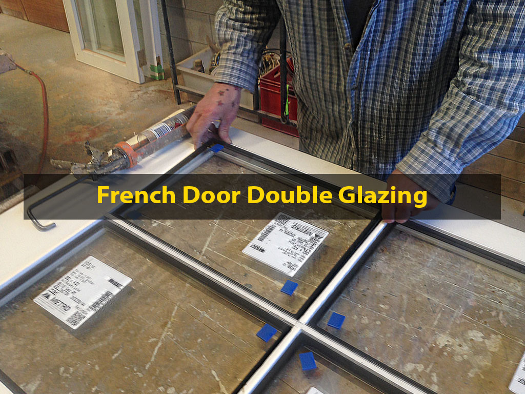French Door Double Glazing, Double Glazing, French Door Reglazing, Retrofitting, No. 8 Building Recyclers, French Doors, Wellington