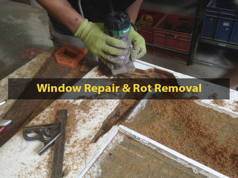 Window Repair, Rot Removal, No. 8 Building Recyclers, Sash Repair, Rot Removal, Wellington