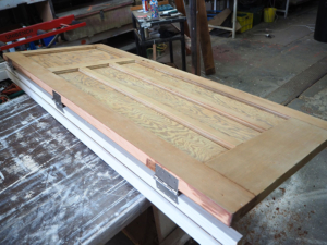 #251 Cedar Door Restoration, Door Restoration, Door Repairs, No. 8 Building Recyclers, Restoration, Wellington