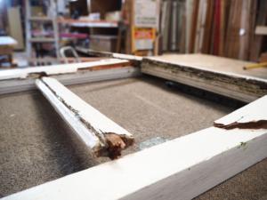 Window Sash Repair & Reglaze, No. 8 Building Recyclers, Wellington, Joinery, Doors, Windows, Restoration, Repairs, Rot Repair, Window Sash Repair