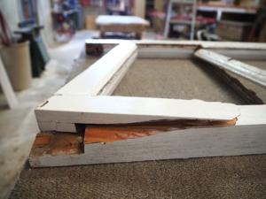 Cedar Window Sash Repair & Reglaze, No. 8 Building Recyclers, Wellington, Joinery, Doors, Windows, Restoration, Repairs, Rot Repair, Window Sash Repair