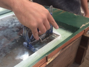 Double Casement Window, Window Reglazing, Window Repair. No. 8 Buildig Recyclers, Recyclers, Recycler