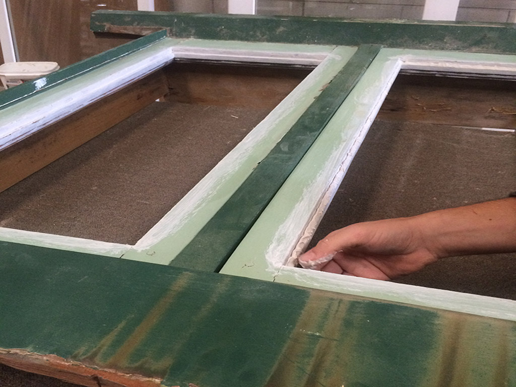 Double Casement Window, Window Reglazing, Window Repair. No. 8 Buildig Recyclers, Recyclers, Recycler