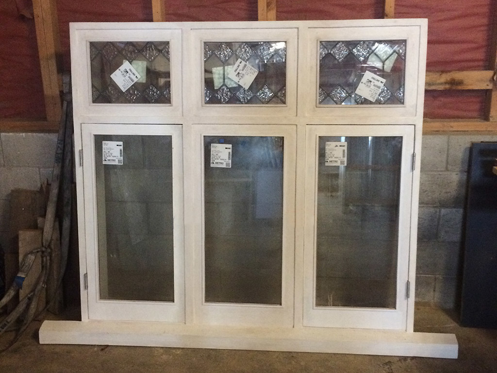 Double Glazing Triple Casement Window, Double Casement Window Repair, Window Repair, Double Glazing, Leadlight, No. 8 Building Recyclers, Reglazing, Wellington, Glass Retrofitting