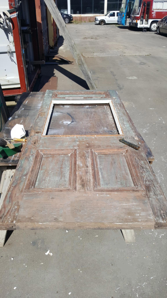 Statesmen Door Restoration, Statesmen Door Repair, Double Glazing, Villa Door Restoration, No. 8 Building Recyclers, Building Recyclers, Door Repair, Door Restoration, Wellington