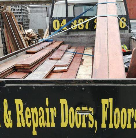 salvaging floorboards